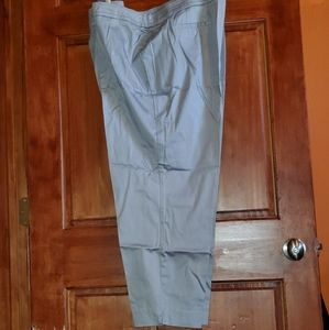 Like new gray sateen pants